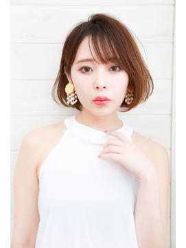 [OCEAN Hair&Life]厚めバング☆スリークボブ☆内巻き王道ボブ☆