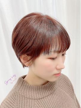 [イメチェン夏ショート]小顔ヘア/簡単スタイリング
