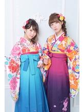 《Barretta/蒲田》☆卒業式☆袴・着付け☆ルージーアレンジ☆ バレッタ.6