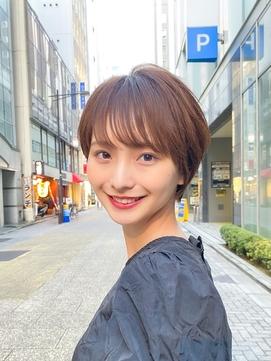 【北山謙三】2020年冬☆大人の美人コンパクトショート