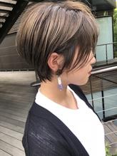 【mee.】福島 大人かわいい くびれショート .40