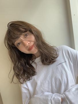 美髪になる◎柔らかい質感のクリープパーマ
