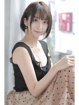 【regalo/鈴木】大人綺麗なショートボブヘア 小顔ライン