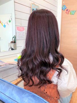 +*~暗髪バイオレットピンクbyファイバープレックスカラー~*+