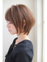 【GARDEN】宮崎えりな 大人かわいいショートボブは小顔になれる 40代.17