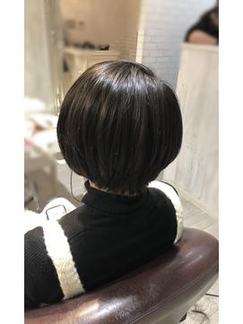 爽やかショートボブby齊藤 美香【Aman hair 吉祥寺】