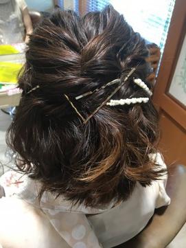 ショートヘアアレンジ(6)