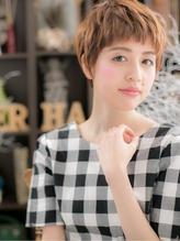 *+COVER HAIR+*…大人かわいいパリジェンヌ♪小顔ショートa パーティ.13