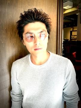 【メンズ】ザクザク短髪ショート ー名古屋の美容室actifー