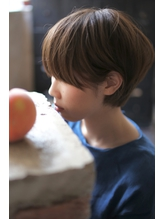 【+~ing deux】耳掛けユルショート【上川渡紗穂】ワイドバング .21