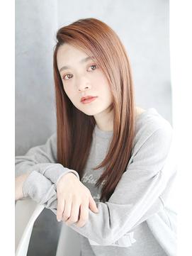 前髪イメチェンくびれイヤリングカラー美髪ラベンダーカラー/031