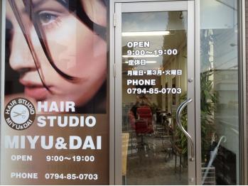ミユアンドダイ(MIYU&DAI)(兵庫県三木市/美容室)