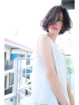 [OCEAN Hair&Life]セミウェットな外国人風大人ボブ☆