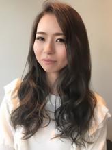☆大人かわいいダークグレージュかきあげロング☆.49