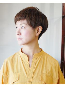 【L`atelier Content miho】ツーブロック×大人マッシュ