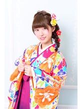 《Barretta/蒲田》☆卒業式☆袴・着付け☆ゆるふわ編みおろし☆  .51