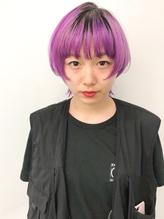 *【AO 晴】マッシュウルフ△ラベンダーパープル.36