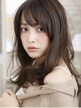 ラフな外ハネ&内巻きMIX美人ロング.59