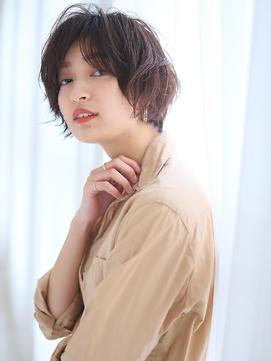【KAINO】横顔美人になれる☆大人可愛い小顔ショート