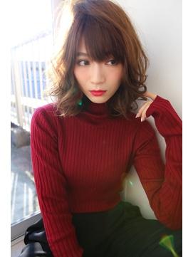 [OCEAN Hair&Life]大人モードなセミディカール☆