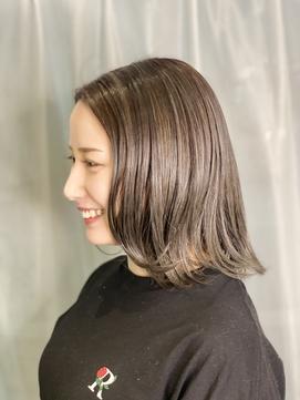 人気NO1白髪ぼかし+カット★ドライカット+ファッション白髪染め