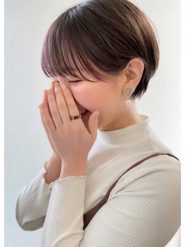 マッシュショート / インナーカラー 【山村 海斗】