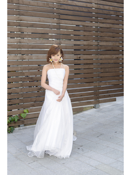 花嫁ボブスタイル
