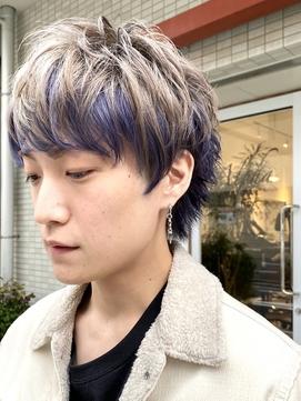 【松戸 Alpha】インナーカラー・マッシュウルフ