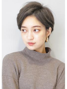 『 毛束感 & グレージュ 』☆ 黒髮ベリーショート ☆
