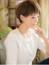 *+COVER HAIR+*…潤いカラー☆で゛シンプルショート゛a! 大人,フェミニン.56