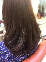 伸ばしかけでもOK。毛先1cmカットでキレイになるツヤ髪スタイル .46