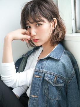 旬顔cute♪抜け感ハイライト×ドライウェット☆ヴェールウェーブ