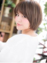 *+COVER HAIR+*…自然体の魅力♪万能ショートボブa 小頭.60