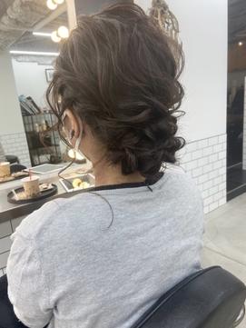 Emma  ecole 結婚式ヘア アップスタイル by.高橋