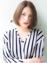 『BUMP 表参道』大人かわいい 前髪長めショートボブ【佐藤健一】.16