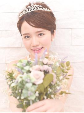 結婚式の出張ヘアメイク 77000円から 詳細はお電話にて