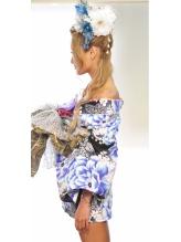 浴衣ミニ風花魁スタイル&盛り髪アップスタイル♪ 盛り髪.2