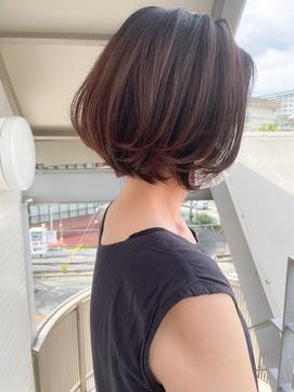 [OCEAN Hair&Life]前下がりボブ/前下がりショート