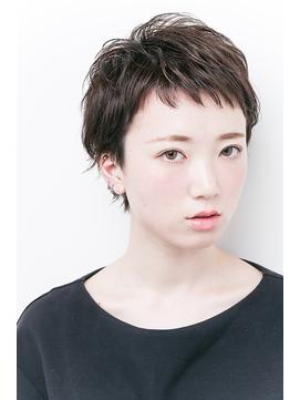 『大人可愛い黒髪ベリーショート』☆