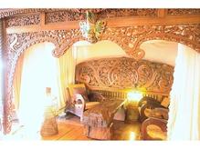 バリのリゾートホテルに訪れたような上質な空間。