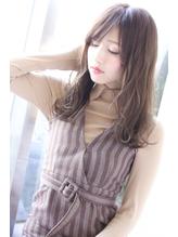 【Laffy】3Dカラー小顔フェザーロング 安藤.1