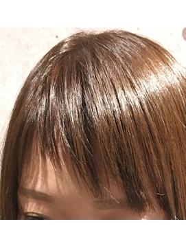 艶々アシメバング【滝島】