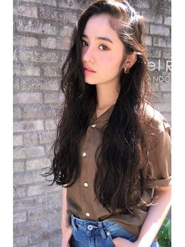 【RIMA】 外国人風☆クセ毛風なラフカール×ルーズパーマ