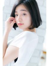 【canon】まとまるシルエット☆大人かわいいナチュラルボブ.56