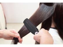 [NEW]超音波+イオン導入で髪深部にまで栄養分をしっかり浸透!!
