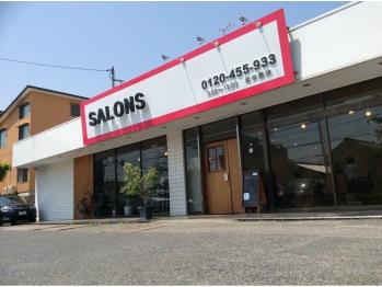 サロンズヘアー 中納言店(SALONS HAIR)