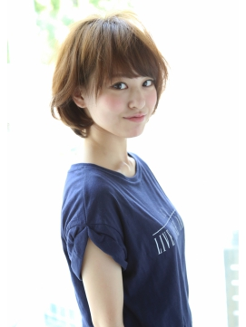 【Un ami】大人かわいい・小顔ふんわりボブ  松井 幸裕