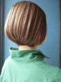 《Kubu hair》小顔ナチュラルボブ