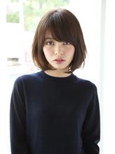 【Un ami】小顔ワンサイド・タンバルモリ ボブ 松井 OL.15