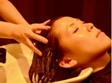 【全室個室】フルリクライニング型のシャンプーブース×自慢のヘッドスパ=極上の癒しを提供!【自由が丘】